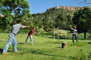 Learning the ropes - M-Cross Ranch