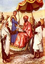 Philip preaches to the Ethiopian Eunuch