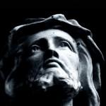 Marble head of Jesus