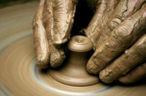 Clay vessel