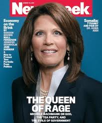 Michele Bachmann on Newsweek cover